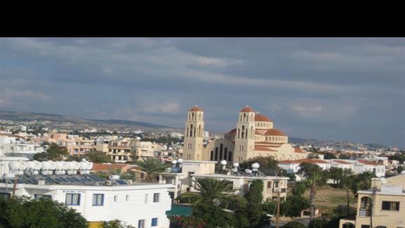 widok na Paphos