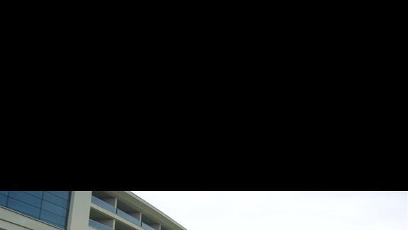 Widok na przód hotelu