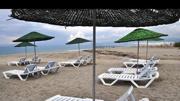 Plaża hotelu Dinler