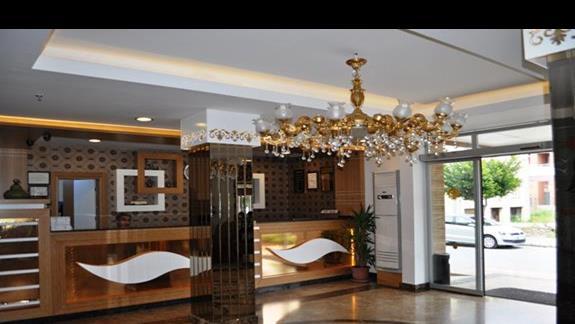 Recepcja w Hotelu Eftalia Aytur