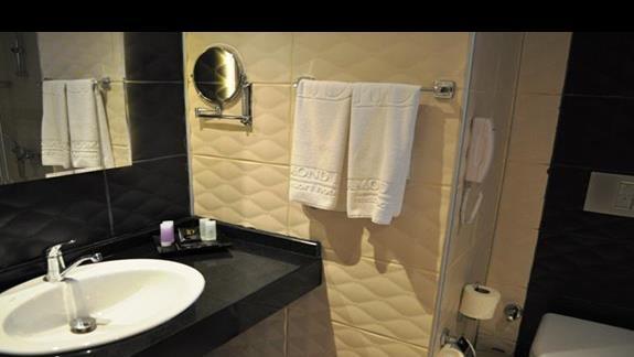 Łazienka w pokoju hotelu Diamond Hill