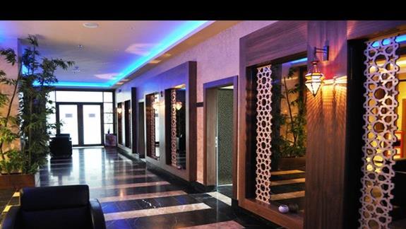 Strefa Wellnes & Spa w hotelu Kahya Aqua Resort