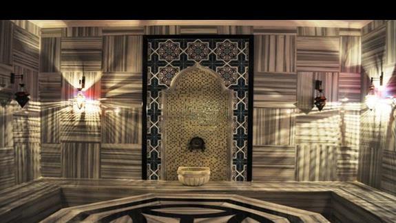 Hammam w hotelu Kahya Aqua Resort