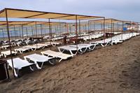 Hotel Xeno Eftalia Resort - Plaża w hotelu Eftalia Resort