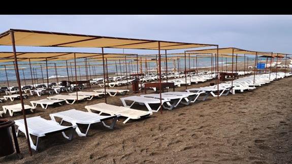 Plaża w hotelu Eftalia Resort