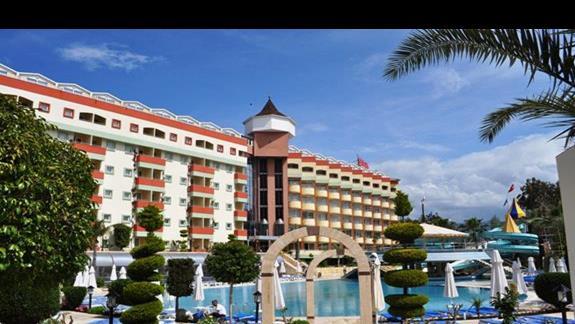 Hotel Saphir - teren hotelowy