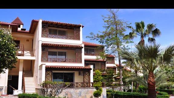 Budynki willowe w hotelu Saphir