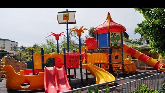 Plac zabaw dla dzieci w hotelu Saphir