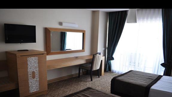 Pokój deluxe w hotelu Saphir