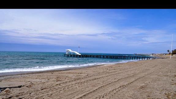 Plaża hotelu Saphir