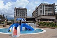 Hotel Dizalya Palm Garden - Brodzik ze zjeżdżalniami dla małych dzieci w hotelu Dizalya Palm Garden