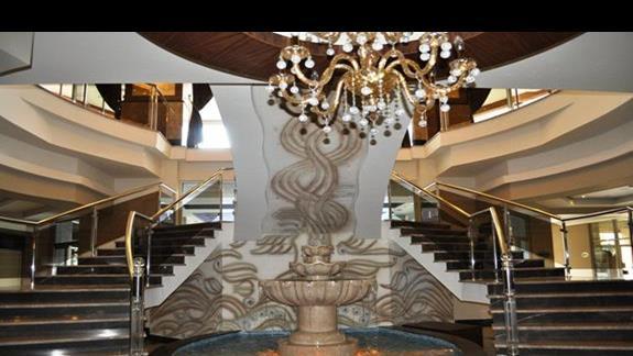 Hall w hotelu Dizalya Palm Garden
