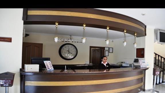 Recepcja w hotelu Eftalia Family Village