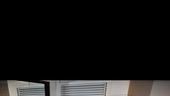 Łazienka w pokoju hotelu Eftalia Family Village