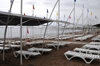 Hotel Sea Life Buket Beach - Plaża hotelu AskA Buket Resort & Spa