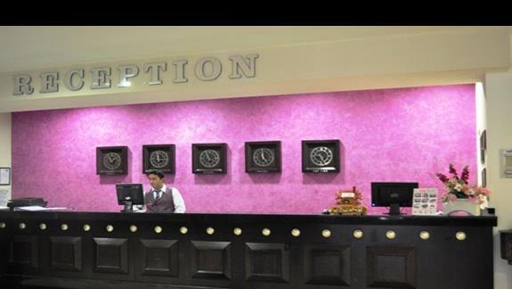 Recepcja w hotelu AskA Buket Resort & Spa