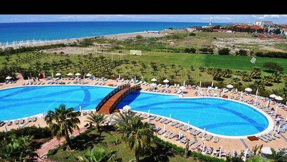 Teren hotelowy Sea World Resort