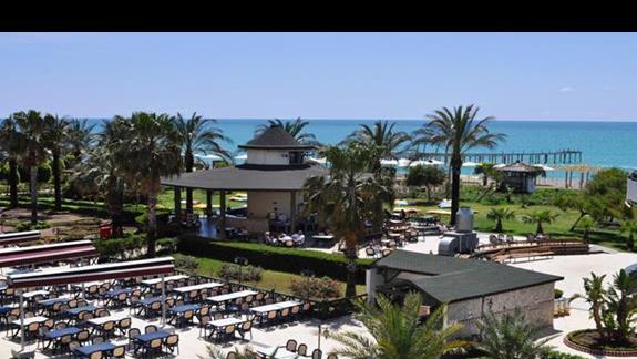 Teren hotelowy Lyra Resort