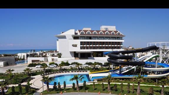 Hotel Sherwood Dreams - teren hotelowy