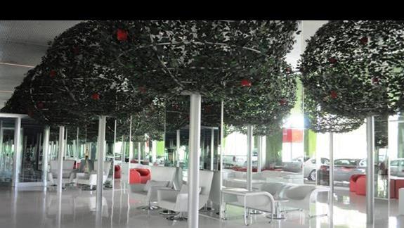 Lobby w hotelu Royal Adam & Eve