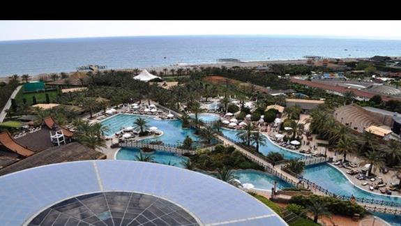 Widok z pokoju w hotelu Royal Wings