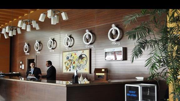 Recepcja w hotelu Mirada Del Mar