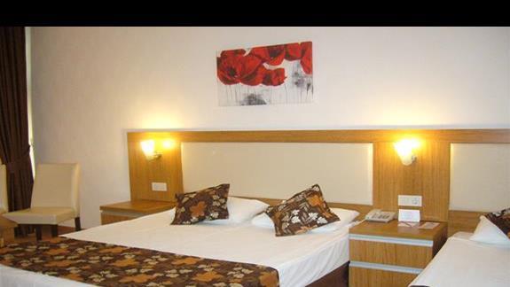 Jedno z pomieszczeń w pokoju FAM 2