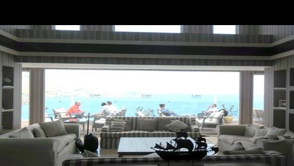 Lobby w hotelu Delta Beach