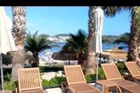 Hotel Costa 3S Beach - Widok ze strefy basenowej na plażę 3 S Beach Club