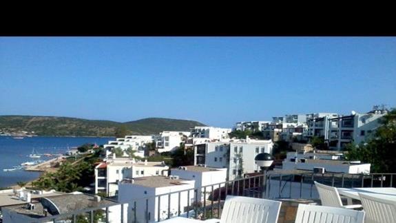 Widok z restauracji na dachu 3 S Beach Club