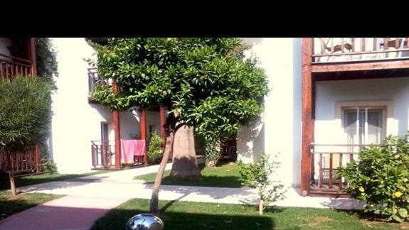 Teren hotelu Bitez Garden Life