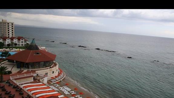 Restauracja oraz plaża