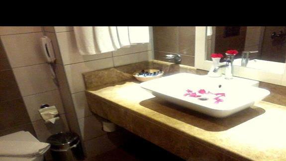 Łazienka pokój standard Venosa Beach Resort