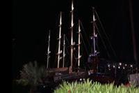 Marmaris - statek  w porcie Marmaris