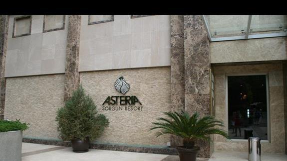 Budynek główny hotelu Asteria