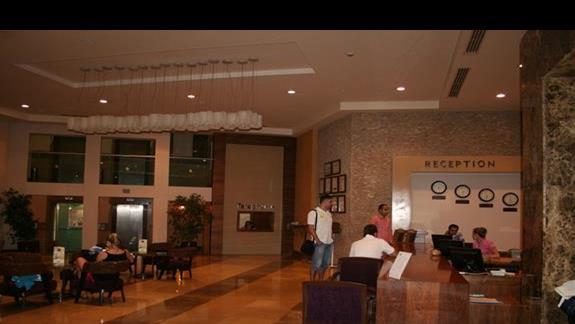Recepcja hotelu Asteria