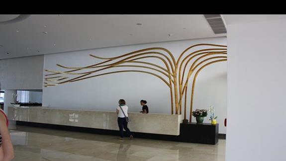 Recepcja hotelu  Princess Andriana Resort & Spa