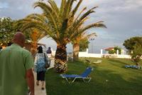 Hotel Mitsis Faliraki Beach - ogród przy plaży Mitsis Faliraki Beach