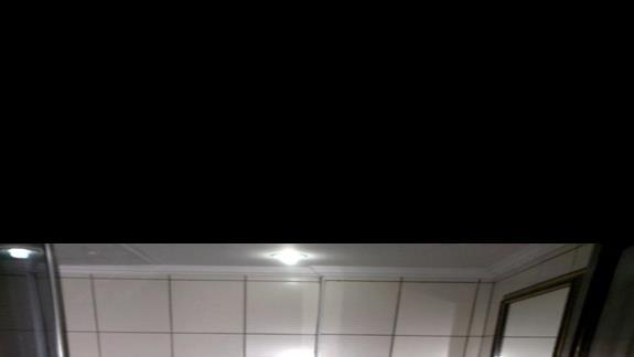 Łazienka w pokoju standard Bitezhan