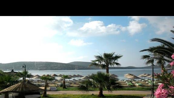 Plaża hotelu Bitezhan