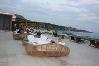 Hotel Mitsis Alila Resort & Spa - taras Mitsis Alilia