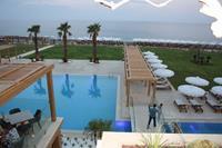 Hotel Mitsis Alila Resort & Spa - widok z tarasu Mitsis Alilia