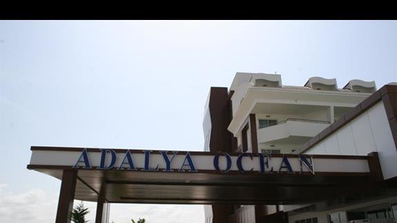 Budynek główny hotelu Adalya Ocean