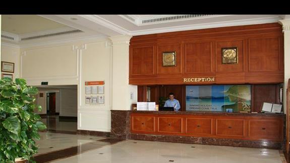 Recepcja hotelu