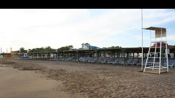 Plaża hotelu Suntopia