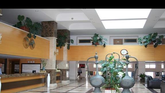 Recepcja i lobby hotelu Top