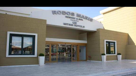 Budynek glówny Mitsis Rodos Maris Resort & Spa
