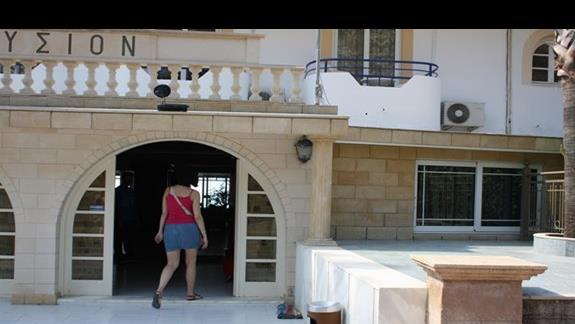 wejscie główne hotelu Ilyssion