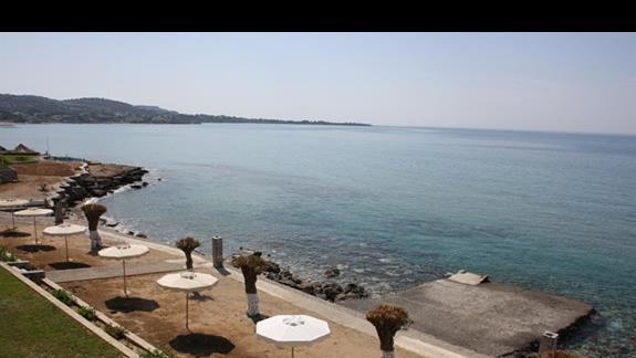 Plaża hotelu Ilyssion