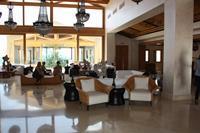 Hotel Mitsis Blue Domes Exclusive Resort & Spa - Lobby przy recepcji Mitsis Blue Domes